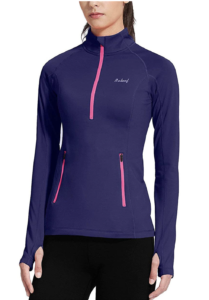 Baleaf Women's Thermal Fleece -- cold weather running gear