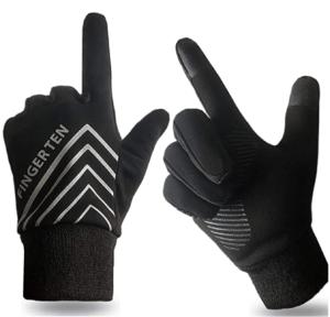 Finger Ten Winter Warm Running Gloves -- cold weather running gear