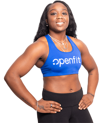 live trainer dominique edomwande | openfit trainers