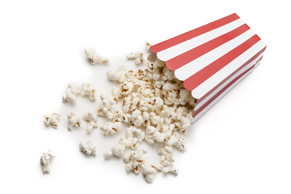 is popcorn healthy- movie popcorn