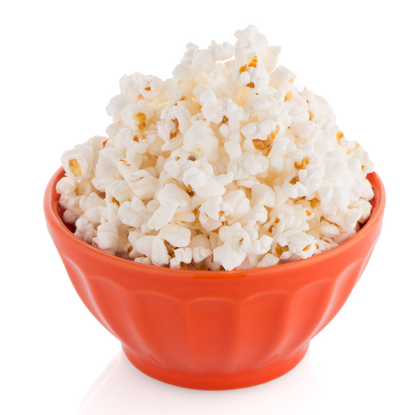 is popcorn healthy- air popped corn