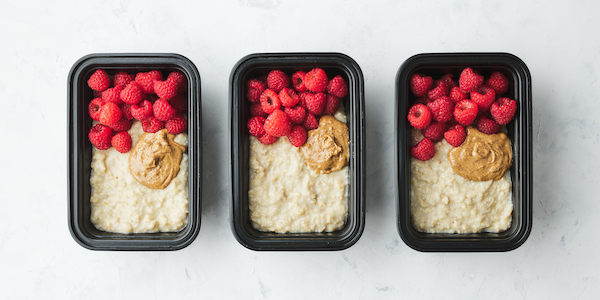 Pescatarian Meal Prep- protein oatmeal