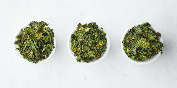 Pescatarian Meal Prep- kale chips