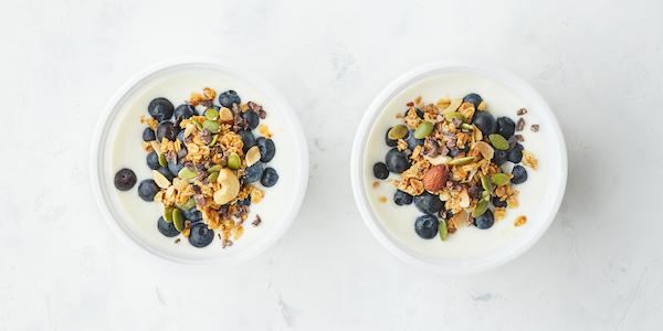 pescatarian meal prep- yogurt bowl