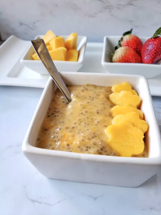 no cook meal prep- breakfast chia pudding