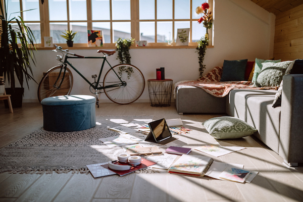 how to detox- clutter