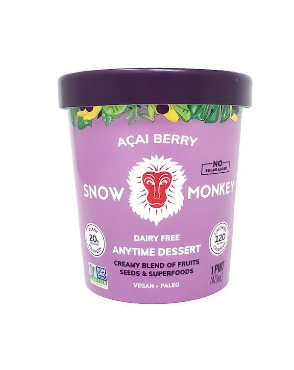 sugar free ice cream- acai berry
