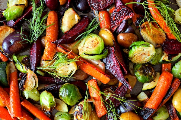 vegetables appealing- roasted vegetables