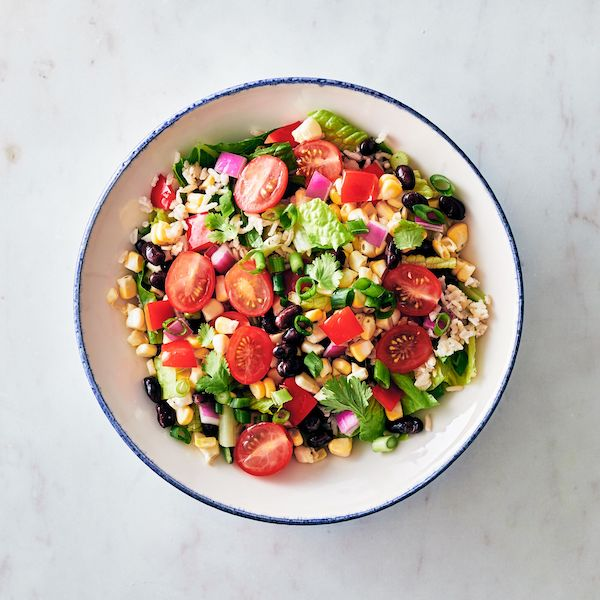 healthy summer recipes - southwestern salad
