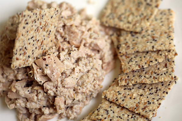 tuna and crackers