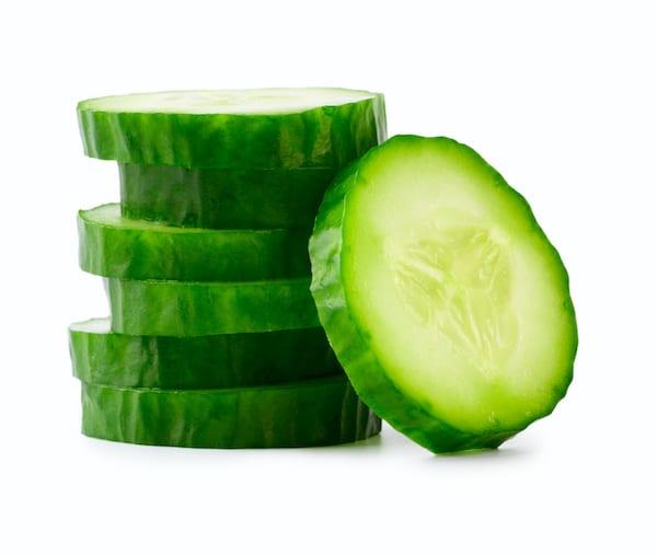 cucumber juice- sliced cucumbers