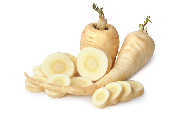 winter vegetables- parsnips