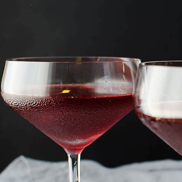 valentines cocktails- crimson kiss