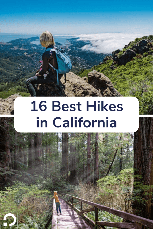 best hikes in california - pin image