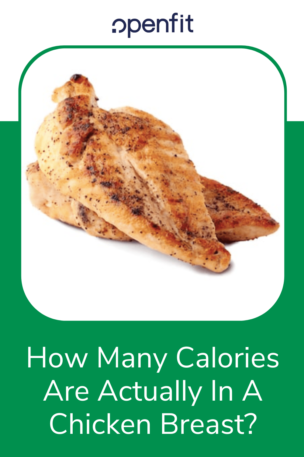 calories in chicken pin image