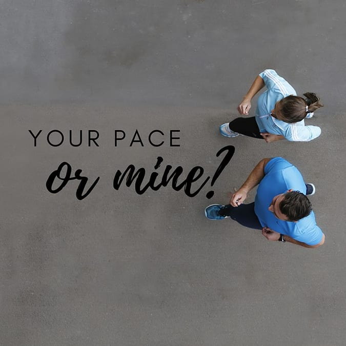 funny running quotes - your pace or mine