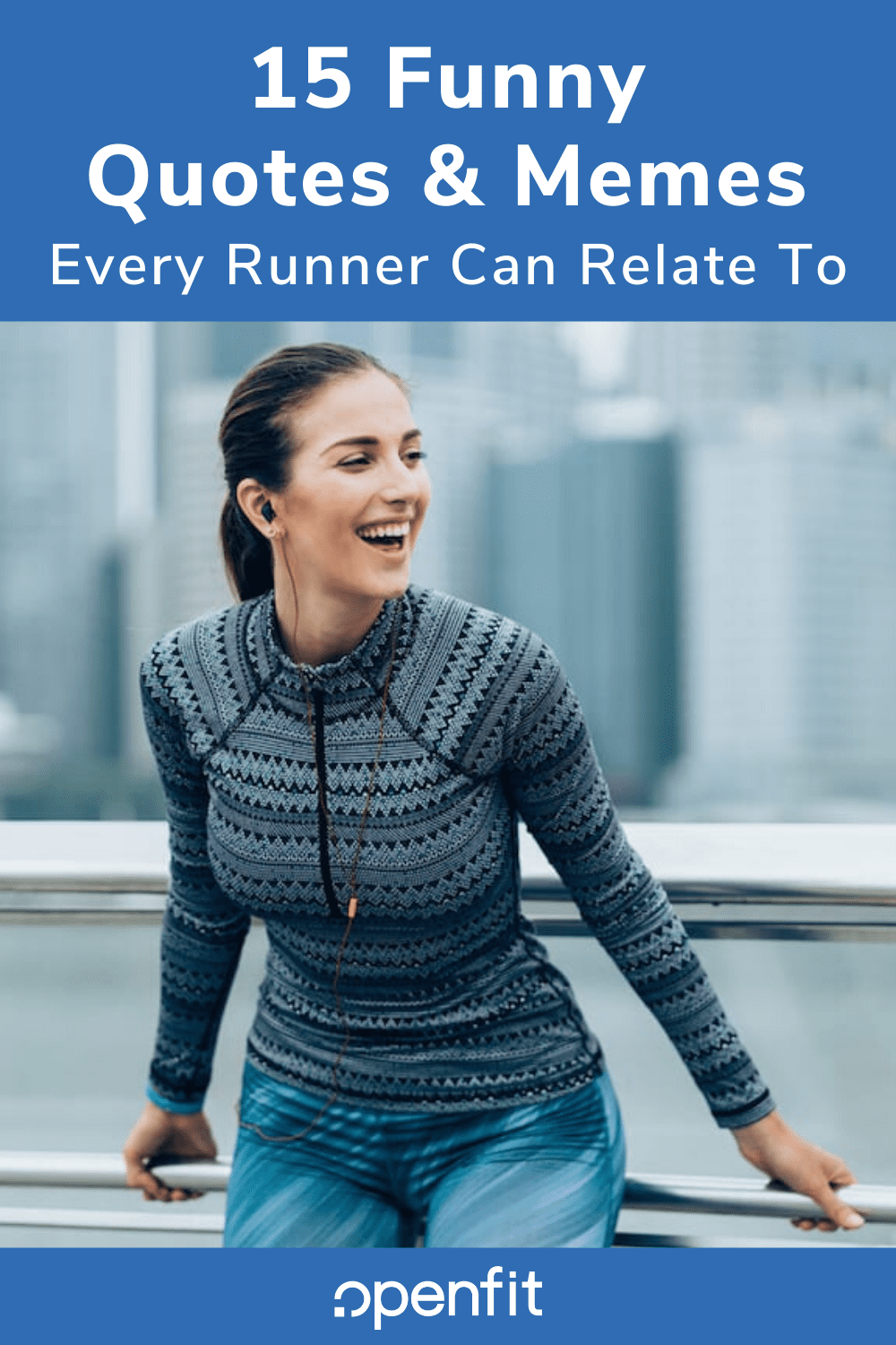 funny running quotes pin image