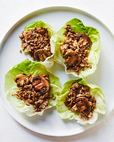 Sugar Free 3 Recipes Turkey Lettuce Wraps