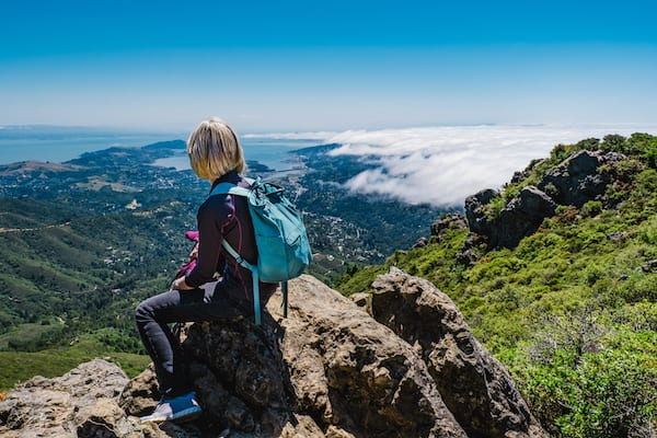 best hikes in california - mount tamalpais