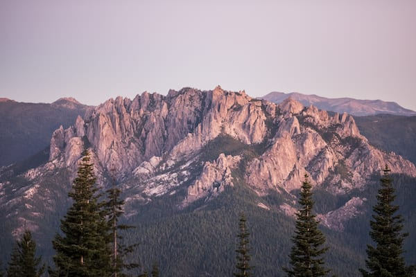 best hikes in california - castle crags