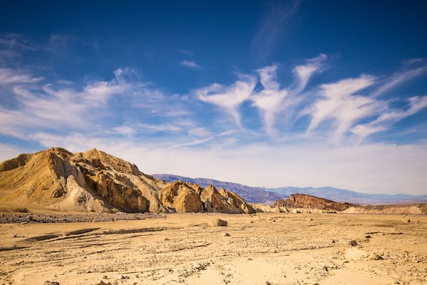 best hikes in california - death valley