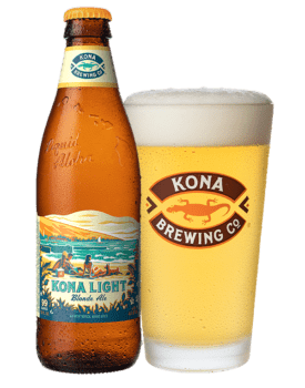 light craft beers - kona light