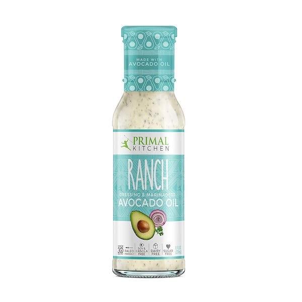 sugar free salad dressings - primal kitchen