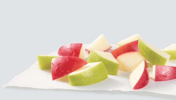 wendys breakfast - apple bites