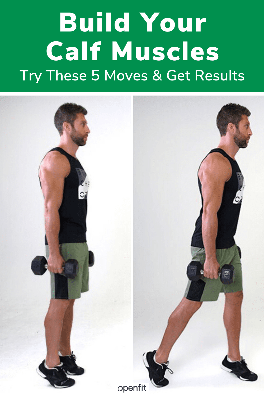 build calf muscles - pin image