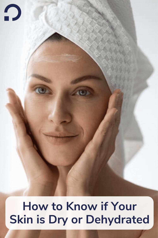 dehydrated skin - pin image