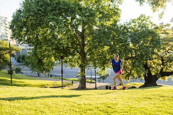 calves workout - hill sprint
