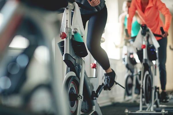 biking calories - biking indoors