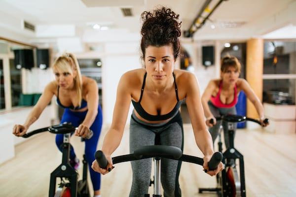 biking burning calories - biking indoors