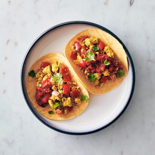 easter recipes - vegan breakfast tacos