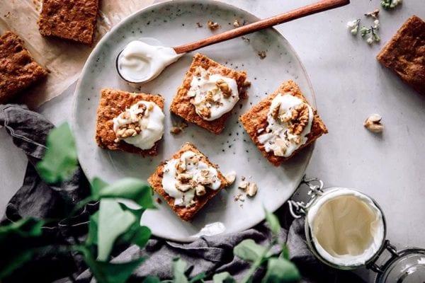 easter treats - carrot cake
