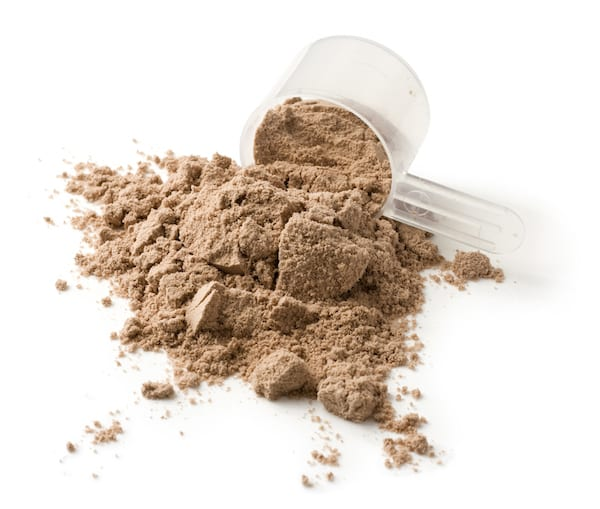protein before or after workout - chocolate protein powder