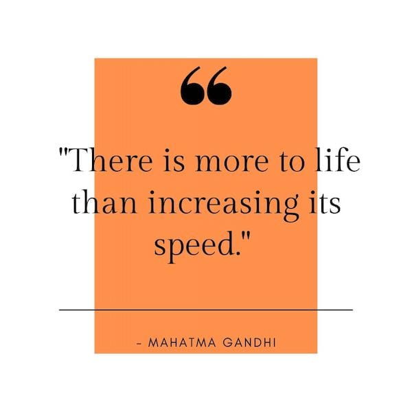 positive mindset quotes - ghandi quote