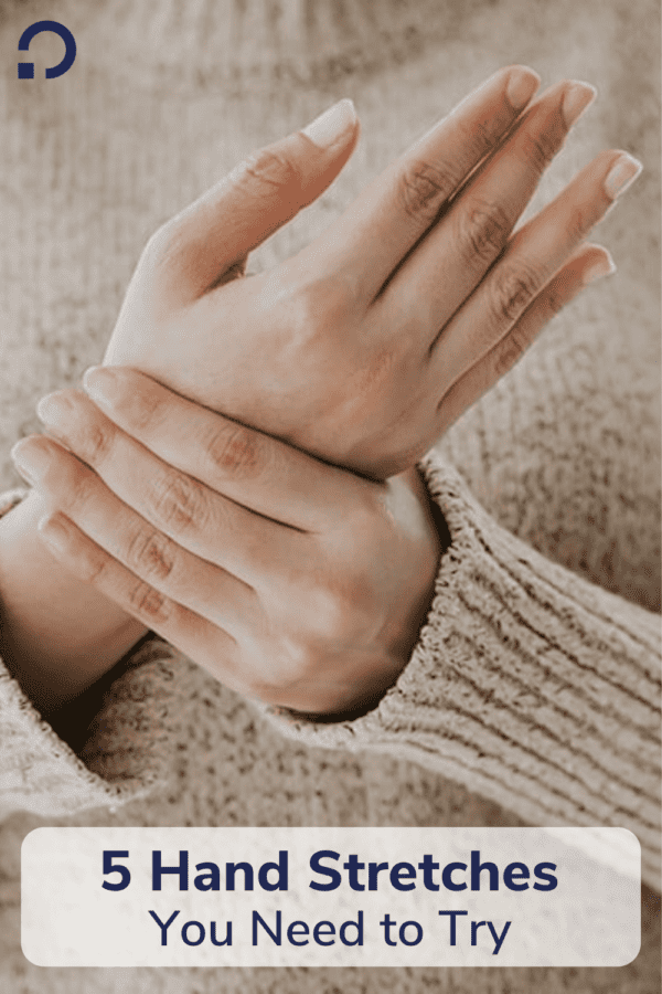 hand stretches - pin image
