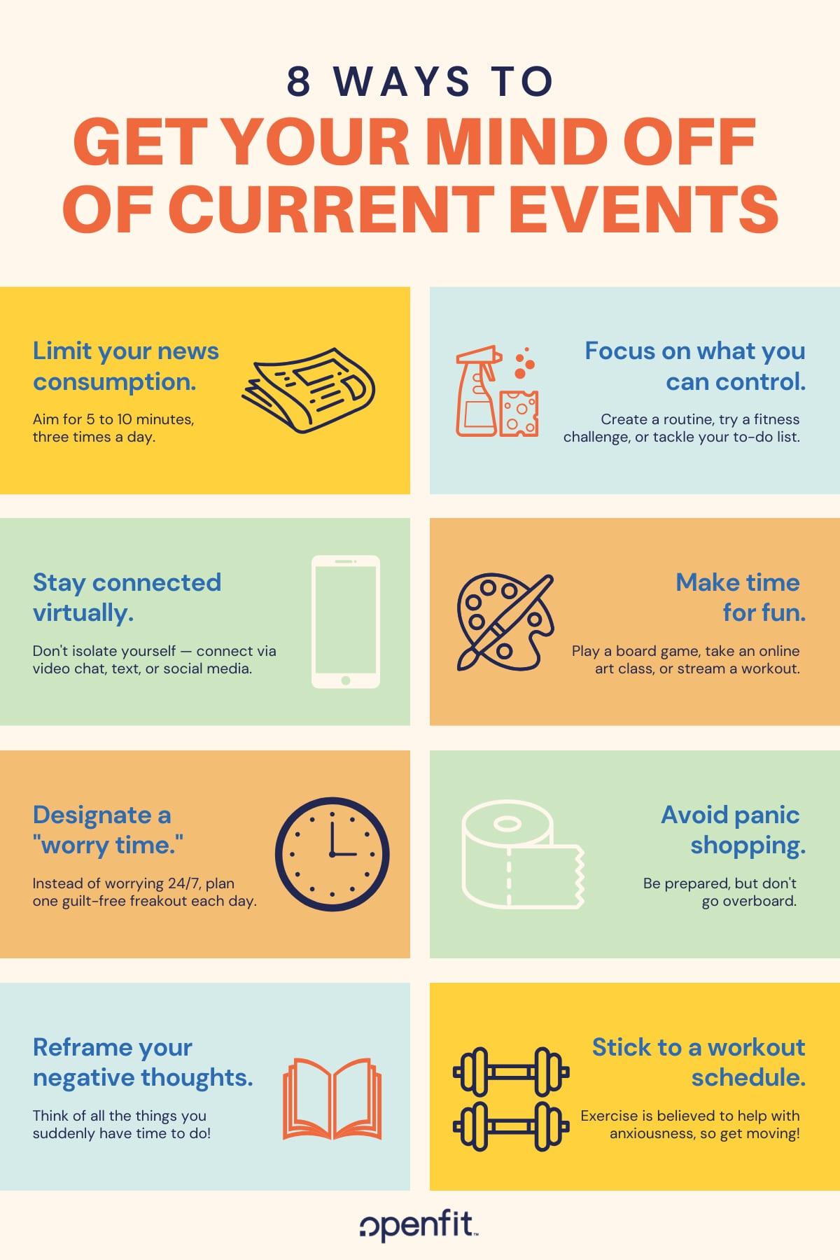 coronavirus anxiety - infographic