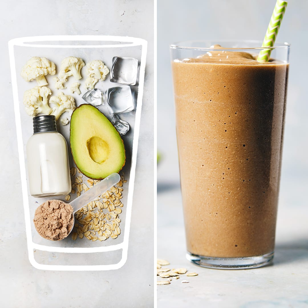 Chocolate Avocado Shake