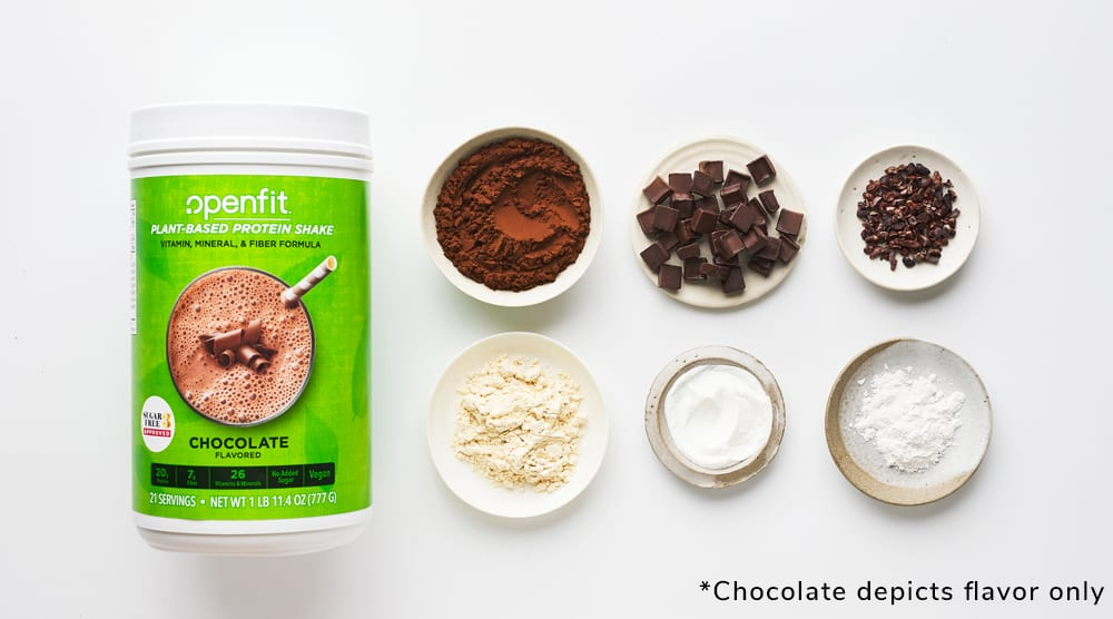 Openfit Plant-Based Protein Shake