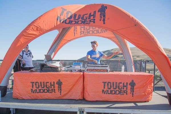 tough mudder coach - coach t mud djing