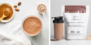 spiced almond chocolate shake
