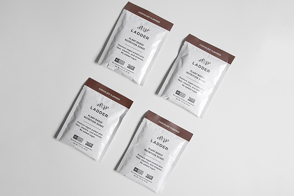 LADDER plant-based protein shake packets
