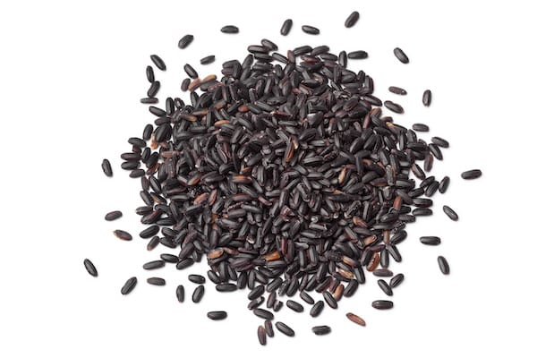 how to cook rice - black rice
