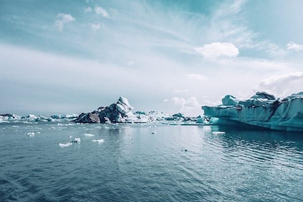 wim hof breathing - glacier