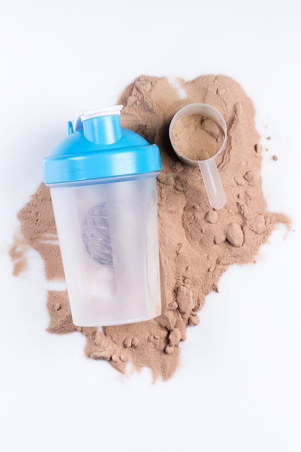 protein shake weight loss - protein powder bottle