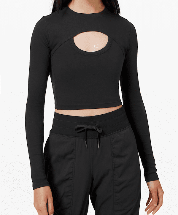 activewear for work - lululemon long sleeve