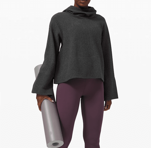 activewear for work - lululemon sweater