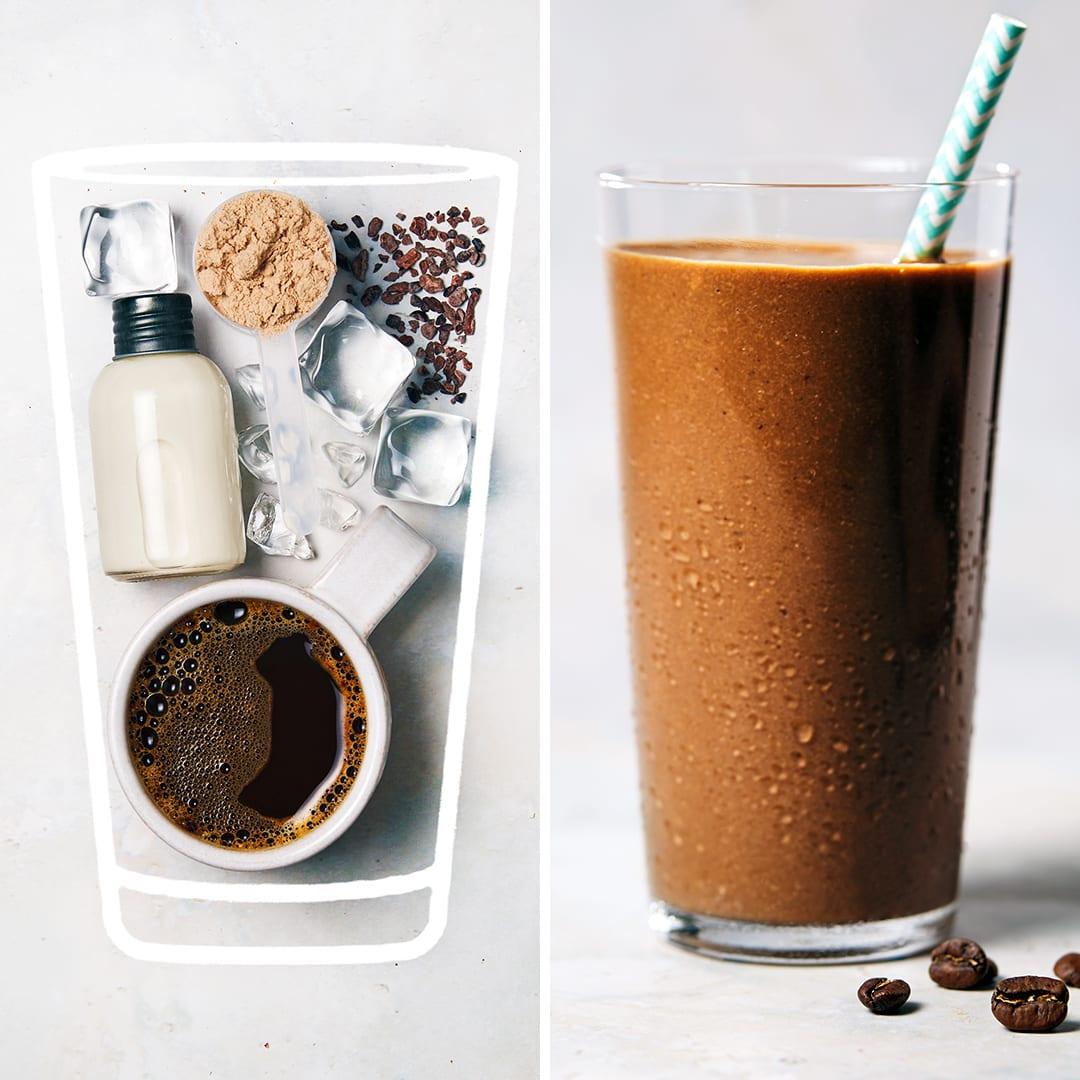 Chocolate Mocha Protein Shake